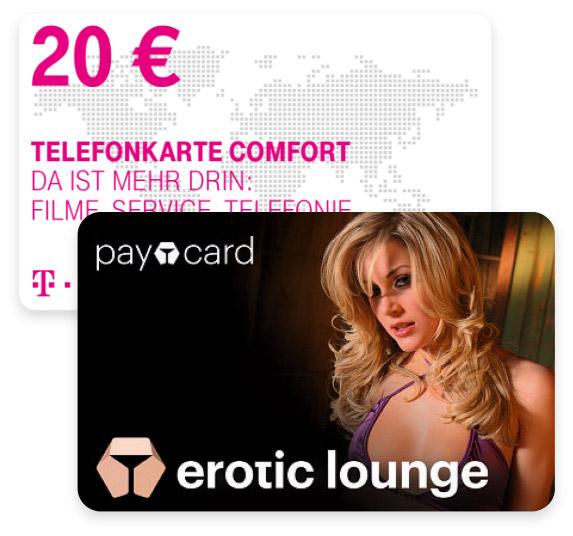 Erotiuc Lounge Gutschein Guthaben Karte