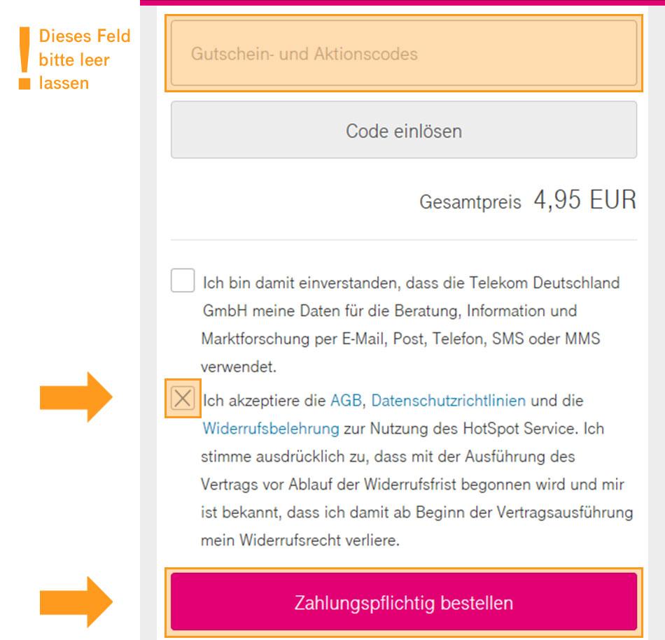 Über 3 Mio. Telekom HotSpots nutzen - inkl. Telekom_FON